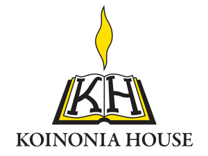 Image result for koinonia  house logo